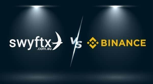Swyftx vs Binance