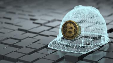 Visualisation of Bitcoin mining