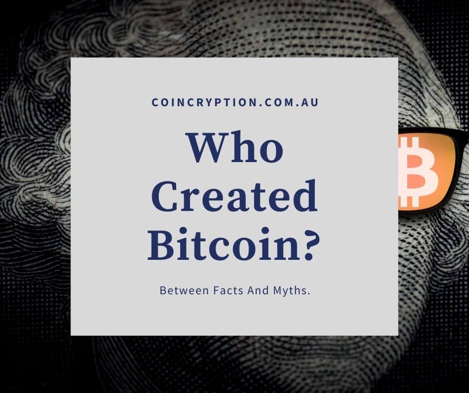Who created Bitcoin image.