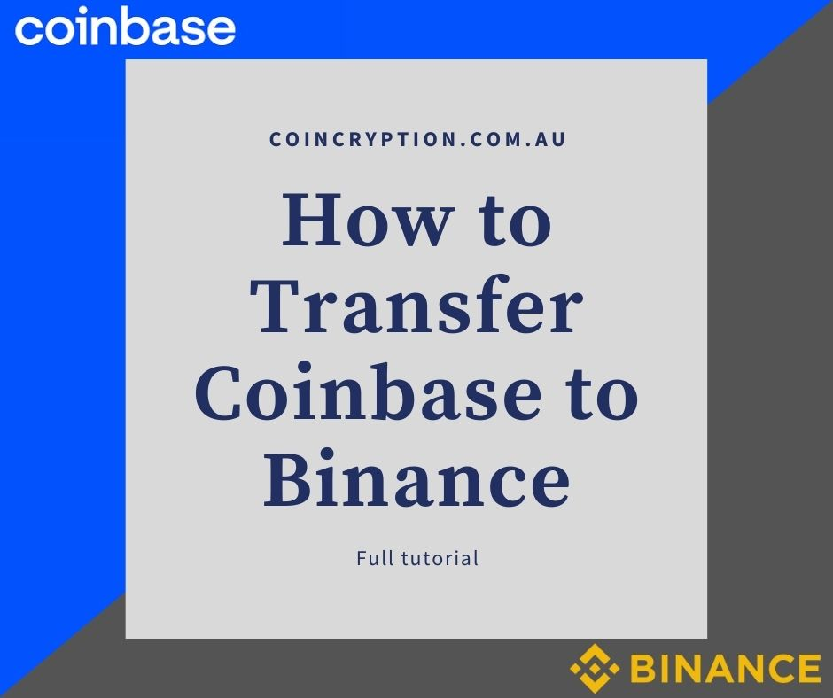 coinbase to binance tutorial featured image