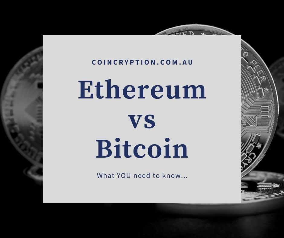 Ethereum vs Bitcoin featured image